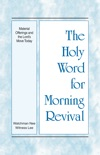 The Holy Word for Morning Revival - Material Offerings and the Lord's Move Today book summary, reviews and downlod