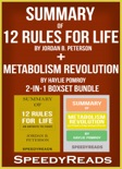 Summary of 12 Rules for Life: An Antidote to Chaos by Jordan B. Peterson + Summary of Metabolism Revolution by Haylie Pomroy book summary, reviews and downlod