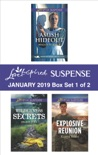 Harlequin Love Inspired Suspense January 2019 - Box Set 1 of 2 book summary, reviews and downlod