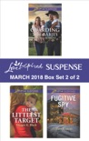 Harlequin Love Inspired Suspense March 2018 - Box Set 2 of 2 book summary, reviews and downlod