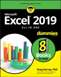 Excel 2019 All-in-One For Dummies book summary, reviews and download
