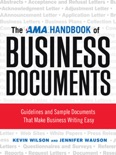 The AMA Handbook of Business Documents book summary, reviews and downlod