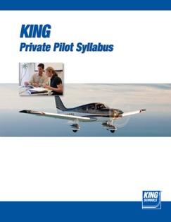 King Schools Private Pilot Syllabus E-Book Download