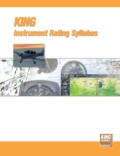 King Schools Instrument Rating Syllabus E-Book Download