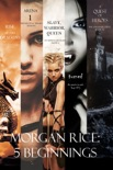 Morgan Rice: 5 Beginnings (Turned, Arena one, A Quest of Heroes, Rise of the Dragons, and Slave, Warrior, Queen) book summary, reviews and downlod