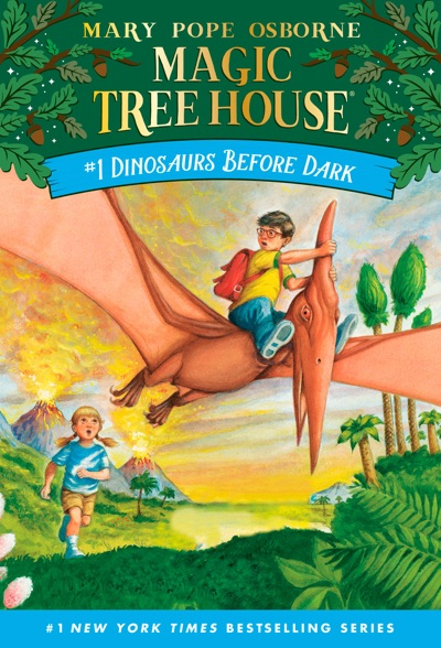 Dinosaurs Before Dark by Mary Pope Osborne & Sal Murdocca Book Summary, Reviews and E-Book Download