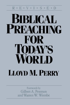 Biblical Preaching for Today's World E-Book Download