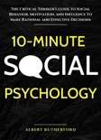 10-Minute Social Psychology book summary, reviews and download