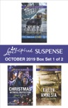 Harlequin Love Inspired Suspense October 2019 - Box Set 1 of 2 book summary, reviews and downlod