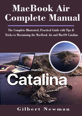 MacBook Air Complete Manual by Gilbert Newman E-Book Download