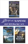 Harlequin Love Inspired Suspense July 2019 - Box Set 1 of 2 book summary, reviews and downlod