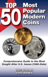 Top 50 Most Popular Modern Coins book summary, reviews and downlod