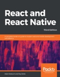 React and React Native book summary, reviews and download