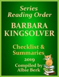 Barbara Kingsolver: Best Reading Order - with Summaries & Checklist - Updated 2019 book summary, reviews and downlod