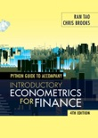 Python Guide for Introductory Econometrics for Finance book summary, reviews and download