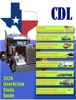 Texas CDL Commercial Drivers License book image