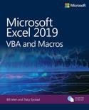 Microsoft Excel 2019 VBA and Macros, 1/e book summary, reviews and download