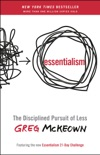 Essentialism book summary, reviews and download