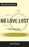 No Love Lost: Masters and Mercenaries: The Forgotten, Book 5 by Lexi Blake (Discussion Prompts) book summary, reviews and downlod