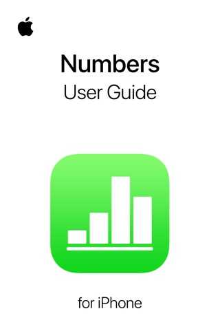 Numbers User Guide for iPhone by Apple Inc. E-Book Download