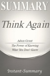 Think Again book summary, reviews and download