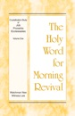 The Holy Word for Morning Revival - Crystallization-study of Job, Proverbs, and Ecclesiastes, Volume 1