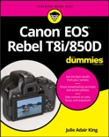 Canon EOS Rebel T8i/850D For Dummies book summary, reviews and download