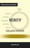 Verity by Colleen Hoover (Discussion Prompts) book summary, reviews and downlod