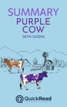 """Summary of """"Purple Cow"""" by Seth Godin book summary, reviews and downlod"""