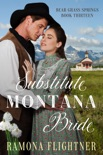 Substitute Montana Bride book summary, reviews and downlod