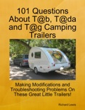101 Questions About T@b, T@da and T@g Camping Trailers book summary, reviews and download