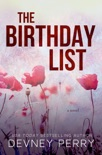 The Birthday List book summary, reviews and downlod