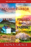 A Lacey Doyle Cozy Mystery Bundle: Killed with a Kiss (#5) and Perished by a Painting (#6) book summary, reviews and downlod