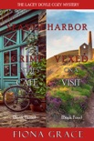 A Lacey Doyle Cozy Mystery Bundle: Crime in the Café (#3) and Vexed on a Visit (#4) book summary, reviews and downlod