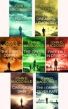 John D. MacDonald Travis McGee Series collection 7 Book set 3: The Turquoise Lament, The Dreadful Lemon Sky, The Empty Copper Sea, The Green Ripper, Free Fall in Crimson, Cinnamon Skin, The Lonely Silver Rain. book summary, reviews and download