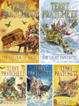 Discworld series by Terry Pratchett Volume I: The Colour of Magic, The Light Fantastic, Equal Rites, Mort, Sourcery. book summary, reviews and download
