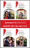 Harlequin Presents - August 2021 - Box Set 2 of 2 book summary, reviews and download