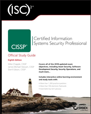 (ISC)2 CISSP Certified Information Systems Security Professional Official Study Guide by Mike Chapple, James Michael Stewart & Darril Gibson E-Book Download
