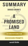 A Promised Land by Barack Obama (DiscussionPrompts) book summary, reviews and downlod