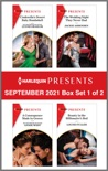 Harlequin Presents September 2021 - Box Set 1 of 2 book summary, reviews and download