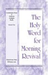 The Holy Word for Morning Revival - Crystallization-study of Joshua, Judges, Ruth, Volume 2 e-book Download