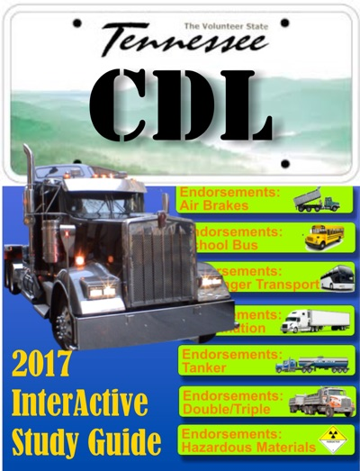 CDL Tennessee Commercial Drivers License by William Chester Book Summary, Reviews and E-Book Download