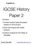 A Guide to IGCSE History Paper 2 book summary, reviews and download