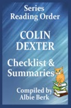 Colin Dexter: Best Reading Order - with Summaries & Checklist book summary, reviews and downlod