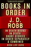 JD Robb Books in Order: In Death series (Eve Dallas series), In Death short stories, and standalone novels, plus a JD Robb biography. book summary, reviews and downlod