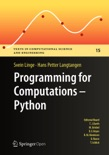 Programming for Computations - Python book summary, reviews and download
