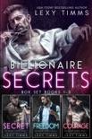 Billionaire Secrets Box Set Books #1-3 book summary, reviews and download