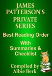James Patterson's Private Series Best Reading Order with Checklist and Summaries book summary, reviews and downlod
