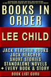 Lee Child Books in Order: Jack Reacher books, Jack Reacher short stories, Harold Middleton books, all short stories, anthologies, standalone novels, and nonfiction, plus a Lee Child biography. book summary, reviews and downlod