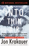 Into Thin Air book summary, reviews and download